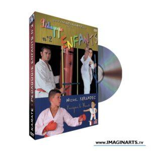 DVD karate pédagogie cours karate enfants 2 Michel Kervadec