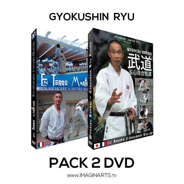 Pack DVD vidéo Gyokushin Washizu Mochizuki
