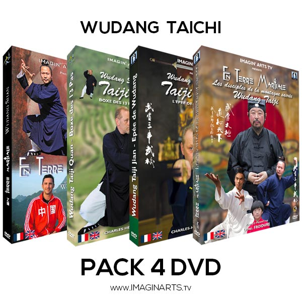 pack 4 DVD vidéo Wudang Taichi Taiji
