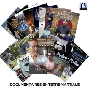 documentaires En Terre Martiale avec les grands maîtres d'arts martiaux Japon Chine Corée