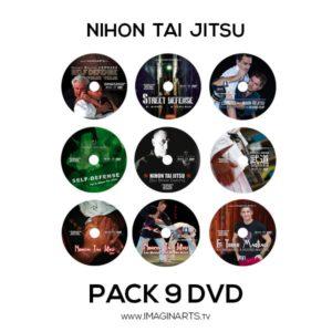 Pack 9 DVD vidéo Nihon Tai Jitsu avec Roland Hernaez