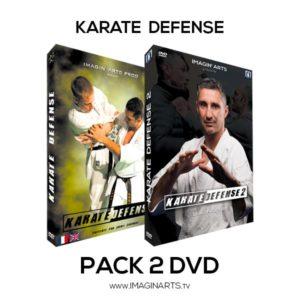 PAck 2 DVD Karate Défense avec Lionel Froidure - Karaté efficace !