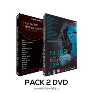Pack 2 DVD NAMT - Nuit des arts martiaux traditionnels