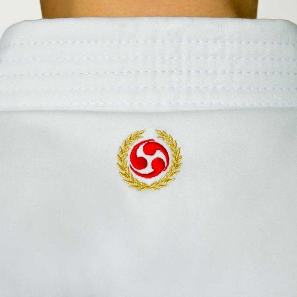 Logo brodé dans le haut du dos - Karate Gi Seishin