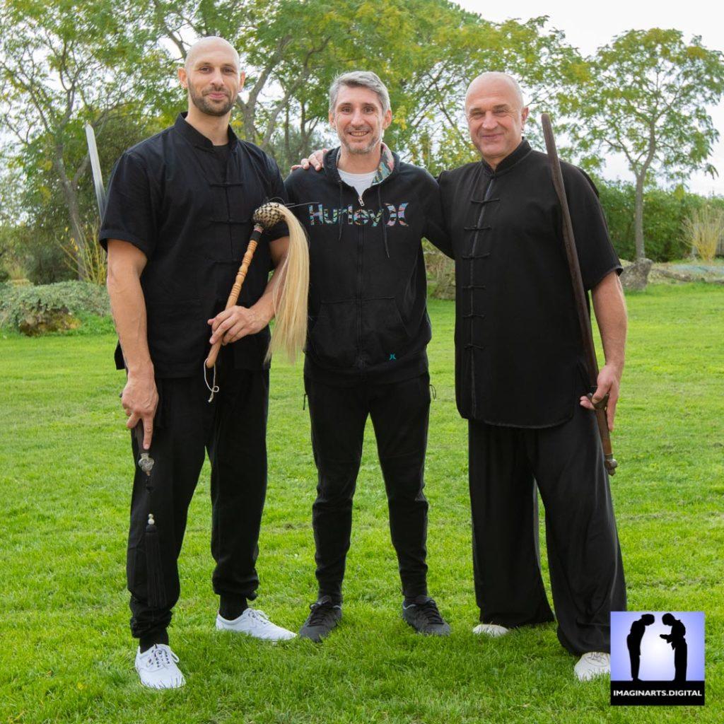 Jonathan Barbary, Lionel Froidure et Thierry ALibert