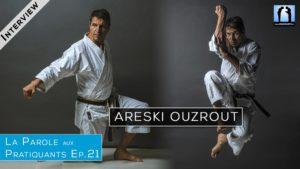 Areski Ouzrout - interview karaté et auteur de livres