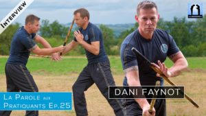 Interview MAster Dani Faynot - Arnis Kali Doblete Rapilon