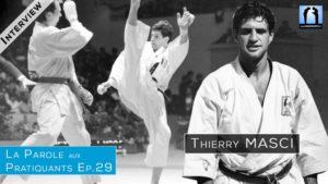 Interview Thierry MAsci - double champion du monde combat karate
