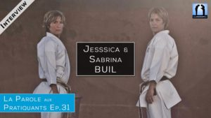 Jessica et Sabrina Buil - interview Karate