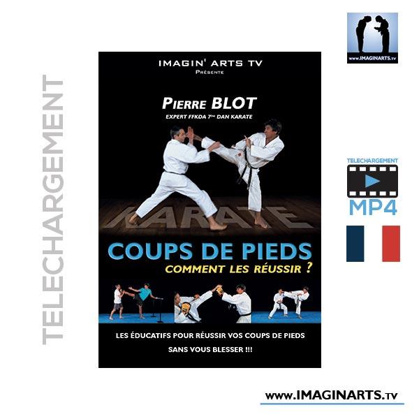 Pierre Blot Karaté - réussir ces coups de pieds vidéo