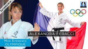 Alexandra Feracci - interview sur son parcours karate olympique à Tokyo